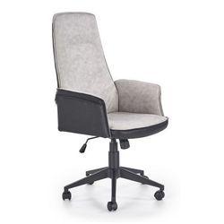 Fotel gabinetowy Rimbo - czarno - popielaty, V-CH-TUCSON-FOT