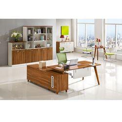 Nowoczesne biurko z pomocnikiem EVOLUTIO A609, A-609 180
