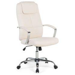Krzesło beżowe - biurowe - obrotowe - komputerowe - WINNER (7081457885276)