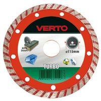 Tarcza do cięcia  61h2t5 125 x 22.2 diamentowa turbo marki Verto