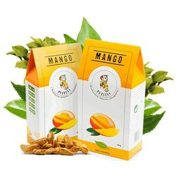 mango suszone bez cukru 40g microfood eko, marki Puffins
