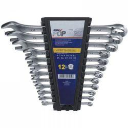 Dedra Zestaw kluczy płasko-oczkowych 1705k 6 - 22 mm (12 elementów) (5902628170507)