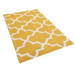 Dywan żółty wełniany 80x150 cm SILVAN (7105271813793)