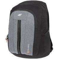 Plecak miejski pcu006 - ciemny szary melanż marki 4f