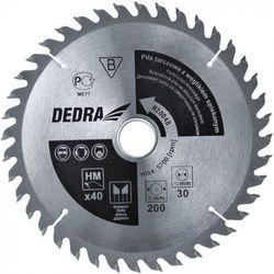 Tarcza do cięcia DEDRA H40040 400 x 30 mm do drewna HM z kategorii tarcze do cięcia