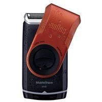 mobileshave m-60r maszynka do golenia w wersji podróżnej czerwony (smart foil, wide floating foil, washable)