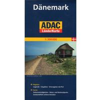 Danemark. ADAC LanderKarte 1:300 000, książka z kategorii Mapy i atlasy