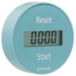 Brabantia - Elektroniczny timer kuchenny mocowany na magnes - miętowy - miętowy