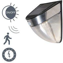 Lampa ścienna Solara LED czarna