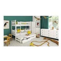 Łóżko piętrowe trzyosobowe Blanka z materacami, 3041