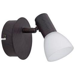 Eglo DAKAR 5 spot ścienny LED Ciemnobrązowy, 1-punktowy - 340 Lumenów - Klasyczny - Obszar wewnętrzny - 5 - 3000 Kelwin (9002759941512)