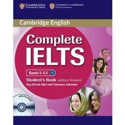 Complete IELTS Bands 5-6.5 Książka Ucznia Bez Odpowiedzi Plus CD-ROM (Guy Brook-Hart, Vanessa Jakeman)