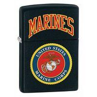 Zippo Zapalniczka  u.s. marines, black matte