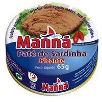 Manná Portugalska pasta z sardynek pikantna 65g