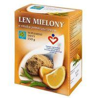 Len mielony o smaku pomarańczowym, OPT909