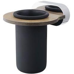 Kubek łazienkowy Bisk BERGEN znal + tworzywo HPL (5901487070645)