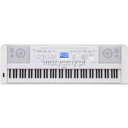 Yamaha DGX 660 WH keyboard z ważoną klawiaturą (88 klawiszy), biały