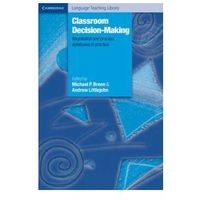 Classroom Decision-Making Negotiation And Process Syllabuses In Practice