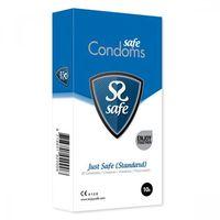 Prezerwatywy klasyczne - Safe Just Safe Condoms Standard 10 szt (8718801920015)