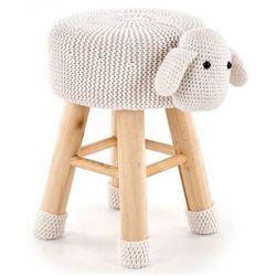 Okrągła pufa dziecięca Stili 3X - owieczka, V-CH-DOLLY_2-PUFA