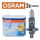 Żarówka samochodowa  12v h1 55w p14.5s 2 szt ultra life 3x dłuższa żywotność marki Osram