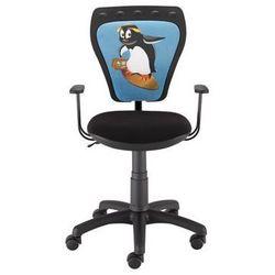 Nowy styl Krzesło dziecięce ministyle pingwin