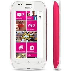 Nokia Lumia 710 8GB Różowa - Różowy \ 2 lata na terenie całego kraju + polskie menu + bez sim locka, kup