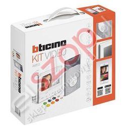 Legrand Zestaw videodomofonowy jednorodzinny bticino av kit l3000+300x 13e wi-fi 363911 bticino av kit l3000+300x 13e wi-fi zestaw