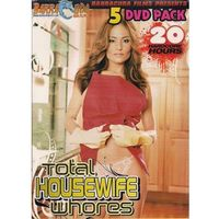 TOTAL HOUSEWIFE WHORES 5 DVD PACK