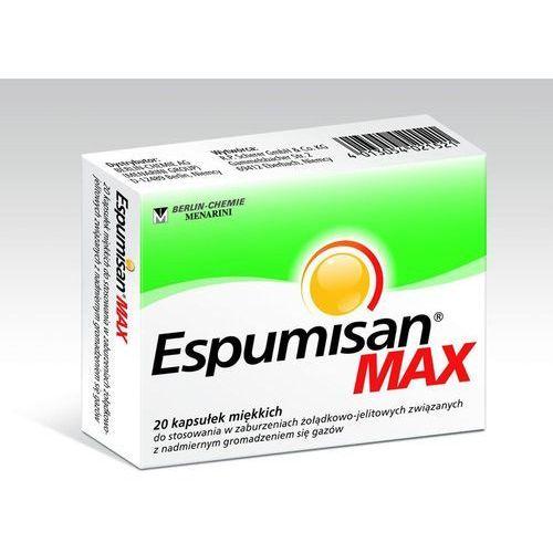 Espumisan max x 20 kaps - produkt farmaceutyczny