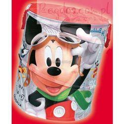 Kosz na zabawki okrągły Myszka Miki Mickey Mouse, towar z kategorii: Pojemniki na zabawki