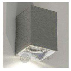 Shilo Kinkiet lampa ścienna ozu 4401/gu10/sz  minimalistyczna oprawa prostokątna szary