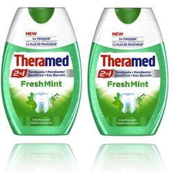 2X THERAMED FRESH MINT 2W1 PASTA DO ZĘBÓW ŚWIEŻA MIĘTA 75ML - produkt z kategorii- Pasty do zębów