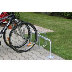 B2b partner Jednostronny stojak na rowery z prostopadłymi uchwytami