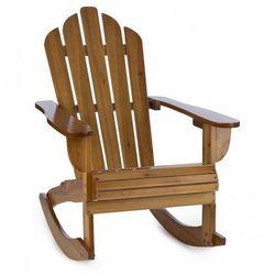 Blumfeldt Rushmore fotel bujany fotel ogrodowy w stylu Adirondack 71x95x105 cm brązowy (4260486154581)