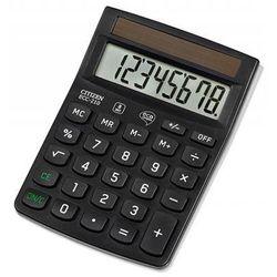 Kalkulator biurowy ecc-210, 8-cyfrowy, 143x102mm, czarny marki Citizen