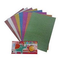 Papier dekoracyjny sparkle NC-02-250g 8 kolorów z kategorii papier i płótna malarskie