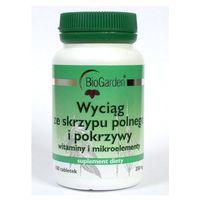 BioGarden Wyciąg ze skrzypu polnego i pokrzywy 100 tabl. (tabletki)