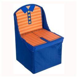 składane krzesło dziecięce kolor niebieski marki Bieco