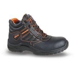 Buty trzewiki skórzane wodoodporne, podnosek polimerowy, wkładka antyprzebiciowa kompozytowa (S3) BETA roz.4