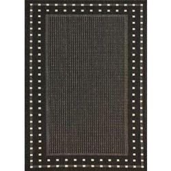 Dywan Essenza Kostki czarny 120x170 prostokąt