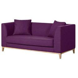 Lily nowoczesna sofa 2 os. - fioletowy marki Scandinavian style design