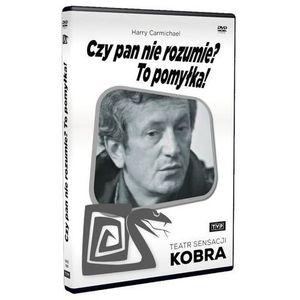 Telewizja polska Czy pan nie rozumie? to pomyłka! (teatr sensacji kobra)