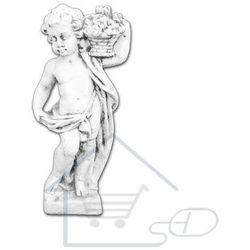 1 Figura ogrodowa betonowa dziecko z koszykiem 82cm