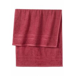 Ręczniki z ciężkiego materiału jeżynowy marki Bonprix