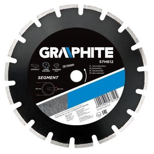 Tarcza do cięcia GRAPHITE 57H612 300 x 25.4 mm diamentowa + DARMOWA DOSTAWA! - produkt dostępny w ELECTRO.pl