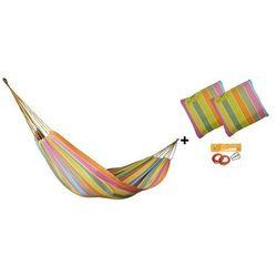 Zestaw hamakowy HW w kolorze 253 z poduszkami i zestawem montażowym, Afrika HW-PZS-253