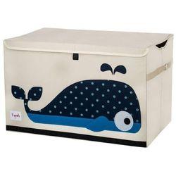 Duże pudło zamykane - wieloryb od producenta 3 sprouts