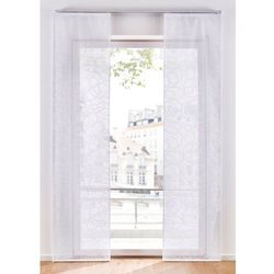 Bonprix Zasłona panelowa z nadrukiem (1 szt.) biały