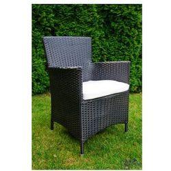 """Krzesło ogrodowe """"Capitale""""- czarny"""